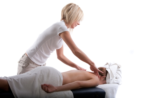 neck massage image