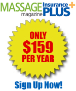 massage liability insurance for only $159