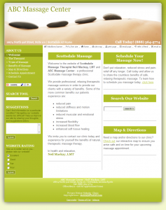 With your massage liability insurance policy, you can customize this deep lime template to reflect your practice's unique personality. Start building your online presence today!