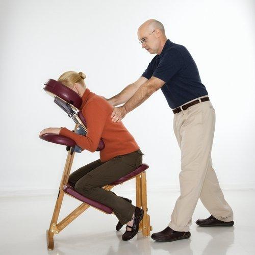 Chair massage image
